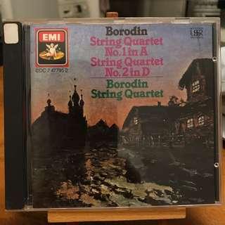 Borodin String Quartets 1 & 2 EMI CDC 7 47795 2