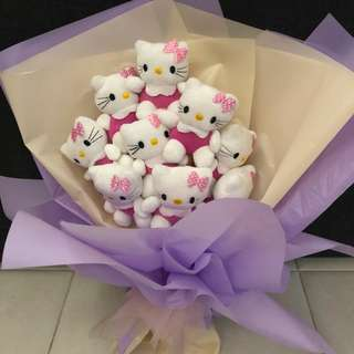 Hello kitty bouquet 9pcs of them