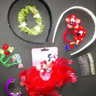 10-pieces hair accessories for children 04