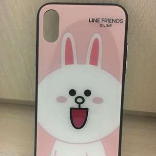 Iphone X phone case Line friends Cony