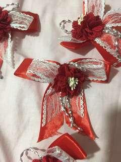Wedding dinner corsage