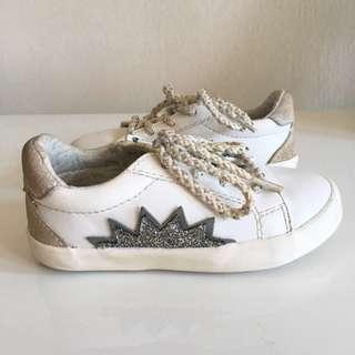 ZARA Glitter Star Shoes