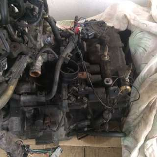 Honda jazz/city coil plug, alternator, compressor
