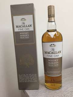 (1公升)Macallan maker's selection fine oak 舊裝