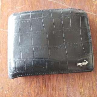 Crocodile Wallet 2 row and 1 zipper