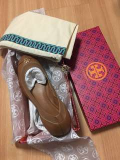 Brand New! Tory Burch Jolie Ballet Flats - Royal Tan US7