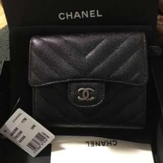 Chanel Small Wallet Black
