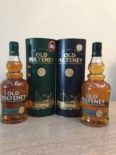 Old pulteney 21年(停產)