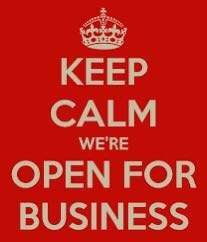 We are open for business WhatsApp us now