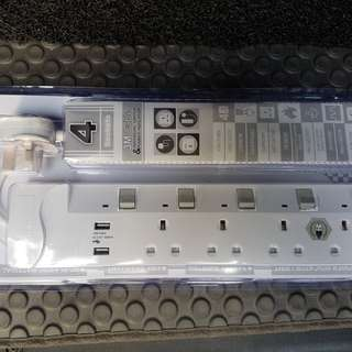 Soundtech power extension with USB charging