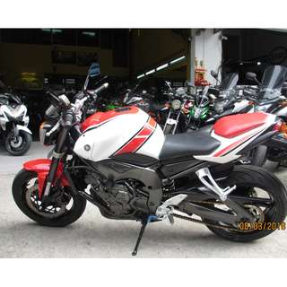 Yamaha FZ1N 2013 $11.k Nego  D/P $1500 or $500 With Out Insurance  (Terms and conditions apply. Pls call 67468582 De Xing Motor Pte Ltd Blk 3006 Ubi Road 1 #01-356 S 408700.