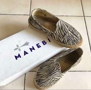 Canvas espadrilles slip on shoes
