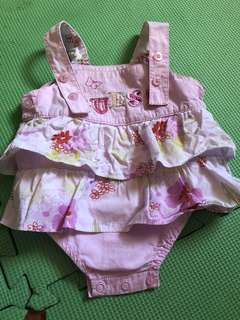 Authentic Guess Floral Onesie