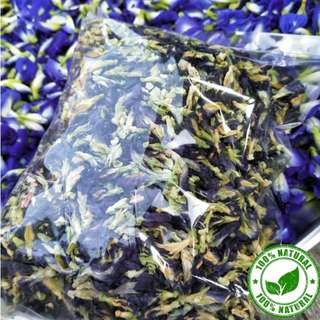 FRESH Butterfly Pea Flower ! 100% natural TEA