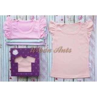 Ruffle Shirt in Pastel Mood