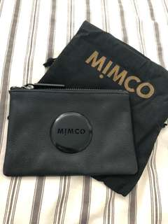 Small Black Mimco Pouch