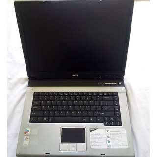 """LAPTOP 15.4"""" Acer Aspire 1682WLMi (Cannot On, No Charger) Pentium 725 1.6GHz 3MB Cache 60GB HDD 256MB RAM"""