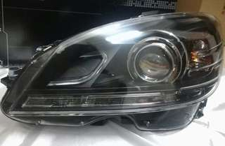 MERCEDES BENZ C63 Design W204 C-Class 2008 2009 2010 2011 Design: DRL Day Time Running Light Projector Head Lamp