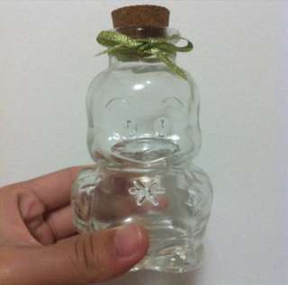 Piyo Piyo Glass Bottle