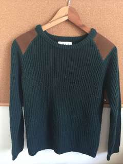 Knitted Green Top