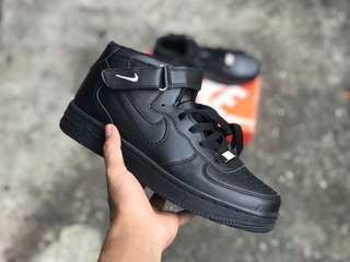 AIRFORCE ALL BLACK (36-39) (43-45) promo hot
