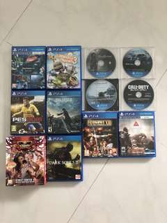 Good Title PS4 games for sales!