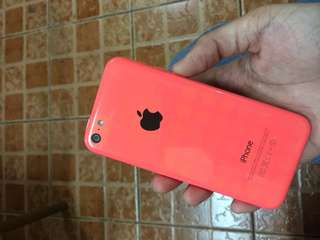 Iphone 5c (pink) 16gb