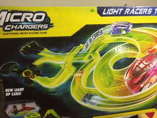 Micro Chargers Night Racers Track