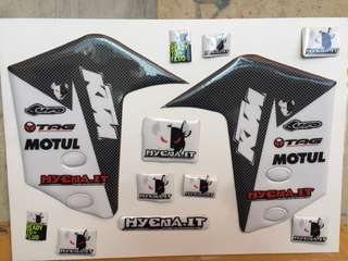 KTM Adventure fender graphics decal sticker