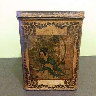 昔日香港老牌子茶葉罐