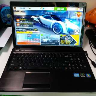 Lenovo G580 高效穩定 i5 3210m 6GB Ram 500GB HDD 雙3D顯卡 GTX 610m 打機一流送office 2016