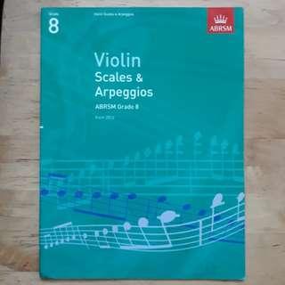 ABRSM Violin Grade 8
