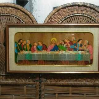Handcraft painting Last Supper