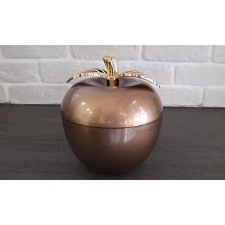 全新金蘋果餅盒/糖果盒