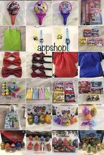 Assorted goodies bag, kids party goodies gift, door gift with appshop1