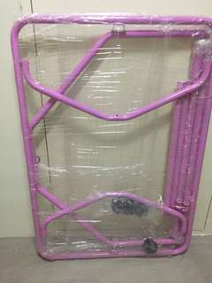 Spring Cot frame and stopper wheels