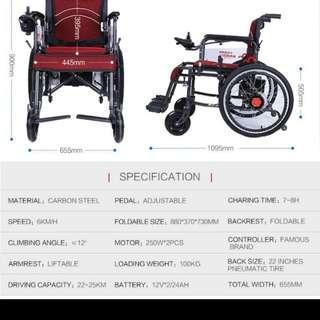 Electric wheelchair ♿