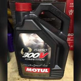 Motul Engine Oil 300v 15w50