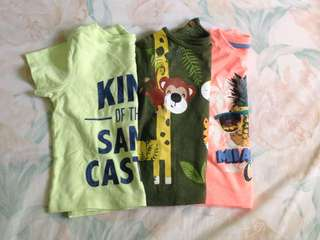 Mothercare t-shirts