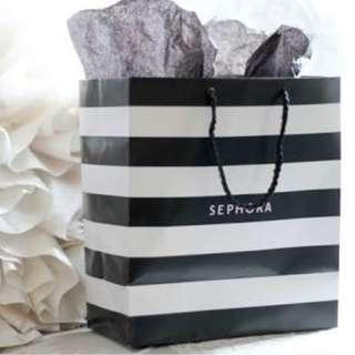Bulk Sephora Papaerbag Medium 10 pcs sold as set