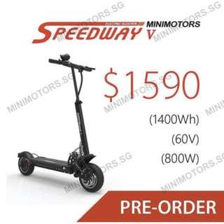 Speedway 5, Speedway V (Pre-Order)