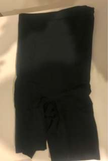 SPANX Black Small with removable straps