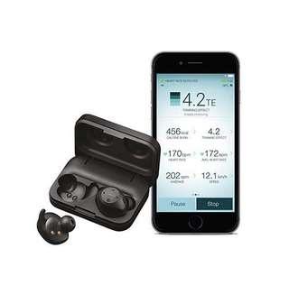 代購美國官翻true wireless bluetooth jabra elite sport 2 4.5hours black/gray