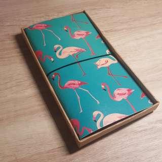 Travellers Notebook -Flamingo