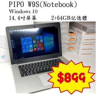 """【全新】PIPO 14.1"""" 手提電腦"""