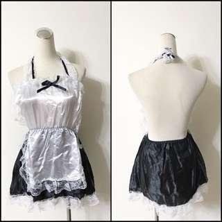 🚚 全新 ㄧ件式女僕洋裝