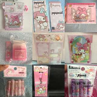 My Melody Stationery Package Bundle