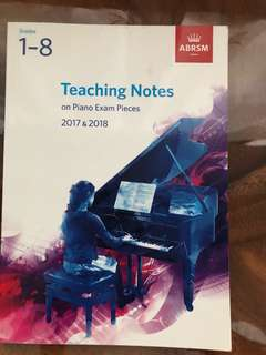 Teaching Notes on Piano Exam Pieces