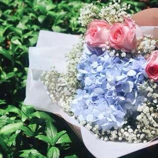 Athena Hydrangea Bouquet