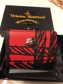 Vivienne Westwood 銀包 wallet,紅色